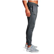 Under Armour Mens Volume Fleece Track Pants Grey XS, Grey, rebel_hi-res