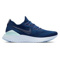 Nike Epic React Flyknit 2 Womens Running Shoes Blue / Indigo US 6, Blue / Indigo, rebel_hi-res