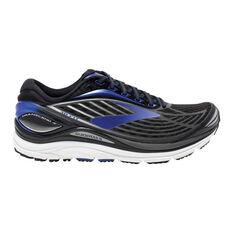 Brooks Transcend 4 Mens Running Shoes Black / Silver US 8, Black / Silver, rebel_hi-res