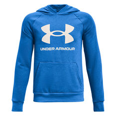 Under Armour Boys VF Rival Fleece Hoodie Blue XS, Blue, rebel_hi-res