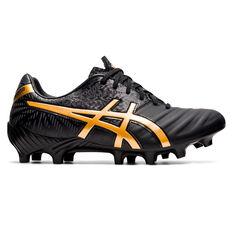 Asics Lethal Tigreor IT FF 2 Football Boots Black/Gold US Mens 7 / Womens 8.5, Black/Gold, rebel_hi-res
