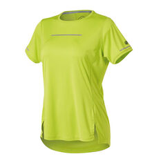 Asics Womens Lite Show Tee Lime XS, Lime, rebel_hi-res