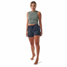 Ell & Voo Womens Meadow Relaxed Fit Shorts, Black, rebel_hi-res