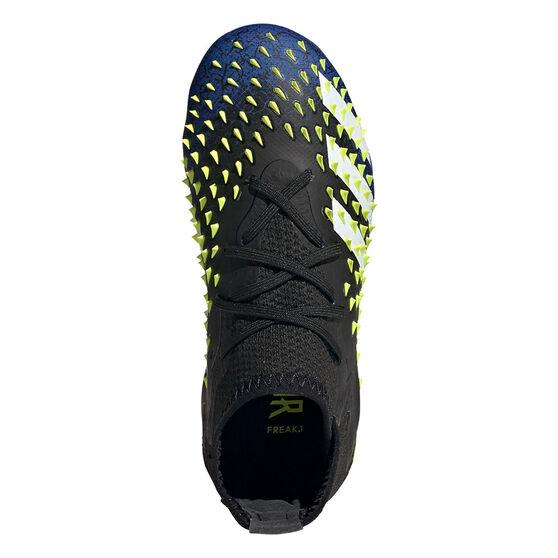 adidas Predator Freak .1 Kids Football Boots, Black/Blue, rebel_hi-res