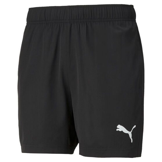 Puma Mens Active Woven Shorts, Black, rebel_hi-res