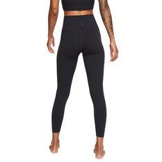 Nike Yoga Womens Luxe Tights Black/Grey XS, Black/Grey, rebel_hi-res