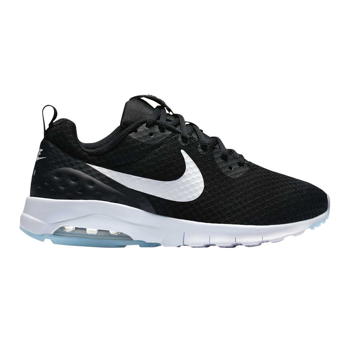 nike air max motion womens black and gold