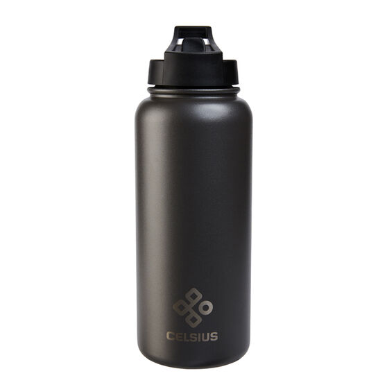 Celsius Victory 950ml Insulated Drink Bottle Gunmetal, Gunmetal, rebel_hi-res