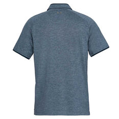 Under Armour Mens Tour Tips Polo Navy S, Navy, rebel_hi-res