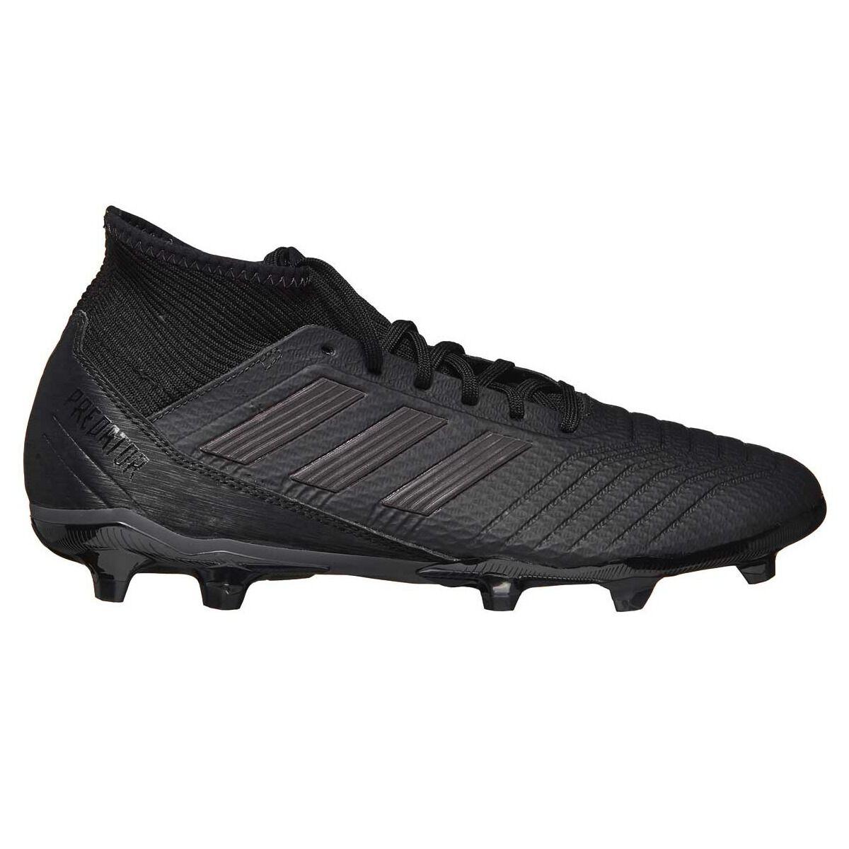 big sale aecb3 3dcc9 ... shopping adidas predator 18.3 mens football boots black us 9 adult  black rebelhi res d1844 9d833