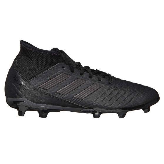 adidas Predator 18.3 Mens Football Boots, Black, rebel_hi-res