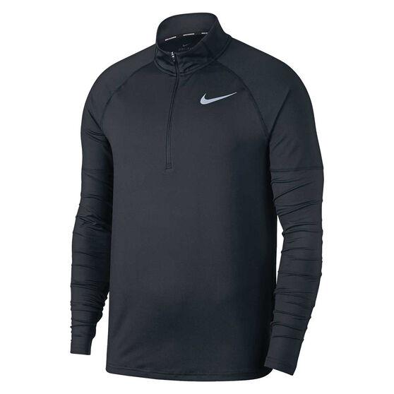 Nike Mens Half Zip Running Top, , rebel_hi-res