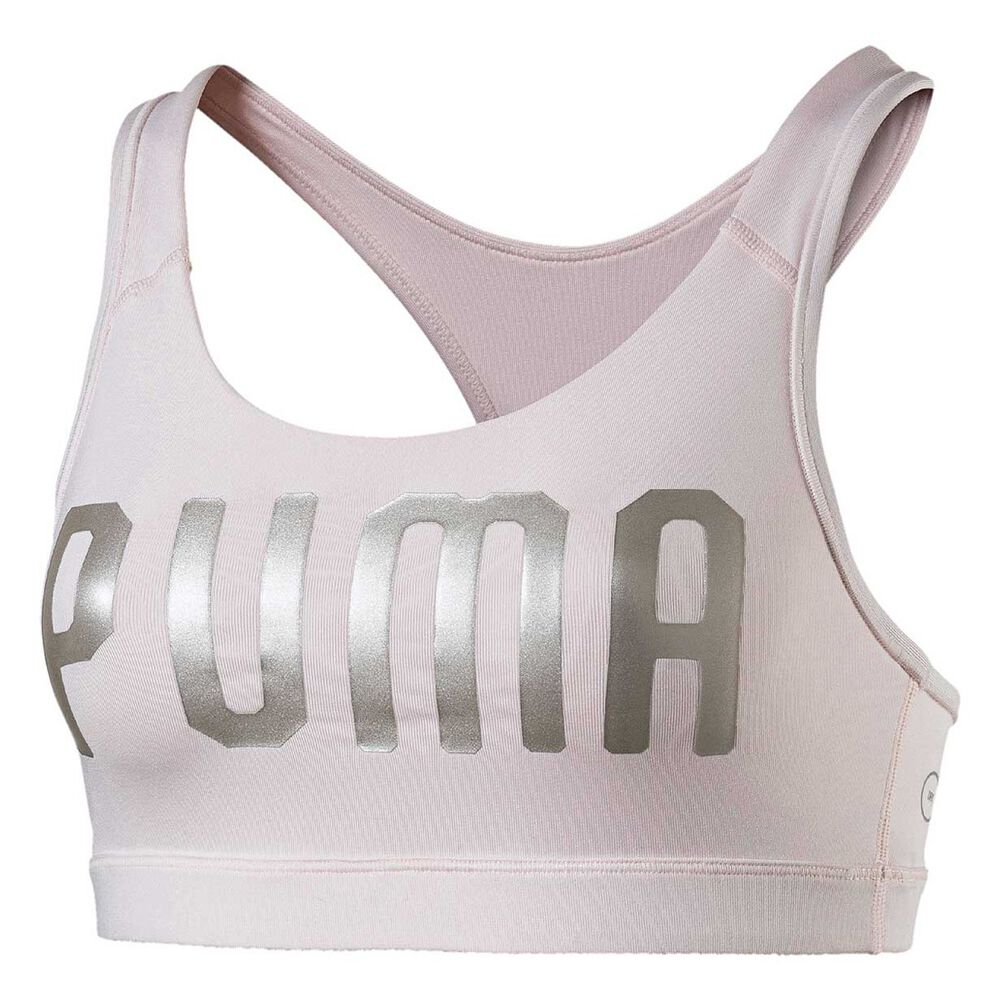 a8f1b447ed79f Puma Womens PWRSHAPE Forever Logo Sports Bra