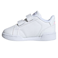 adidas Roguera Toddlers Shoes White/Pink US 4, White/Pink, rebel_hi-res