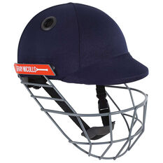 Gray Nicolls Atomic Cricket Batting Helmet Navy XXS, Navy, rebel_hi-res