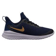 Nike Renew Revival Womens Running Shoes Black / Gold US 6, Black / Gold, rebel_hi-res