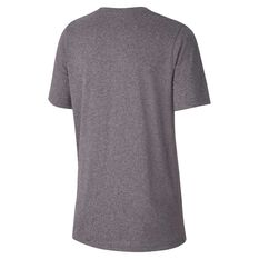 Nike Boys Dry Legend Swoosh Training Tee Grey / White XS, Grey / White, rebel_hi-res