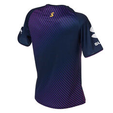 Melbourne Strom 2020 Mens Training Tee Purple S, Purple, rebel_hi-res