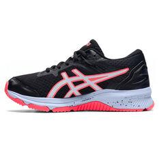 Asics GT 1000 10 Kids Running Shoes Black/Blue US 1, Black/Blue, rebel_hi-res