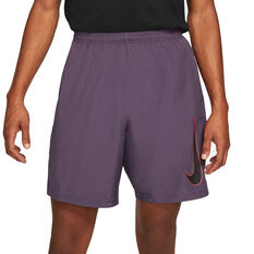 Nike Mens Dri-FIT Academy 21 Woven Soccer Shorts Purple XS, Purple, rebel_hi-res