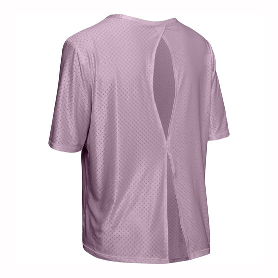 Under Armour Womens Armour Sport Tee, Pink, rebel_hi-res