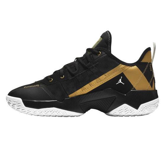 Jordan One Take 2 Mens Basketball Shoes, Black, rebel_hi-res