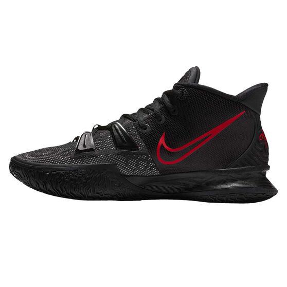 Nike Kyrie 7 Mens Basketball Shoes, Black, rebel_hi-res