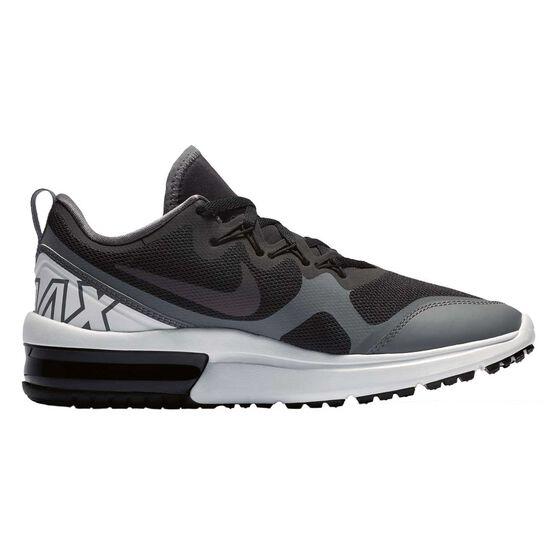 Nike Air Max Fury Womens Running Shoes, Black / Grey, rebel_hi-res