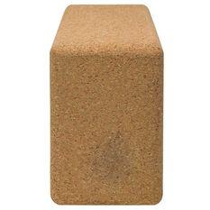 Gaiam Cork Yoga Block Light Brown, , rebel_hi-res