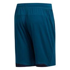 adidas Mens 4KRFT Ultimate 9in Training Shorts Green XS, Green, rebel_hi-res