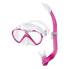 Mares Seahorse Junior Mask and Snorkel Pink, , rebel_hi-res