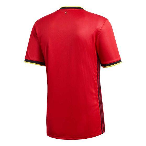 adidas Belgium 2020 Mens Home Jersey, Red, rebel_hi-res