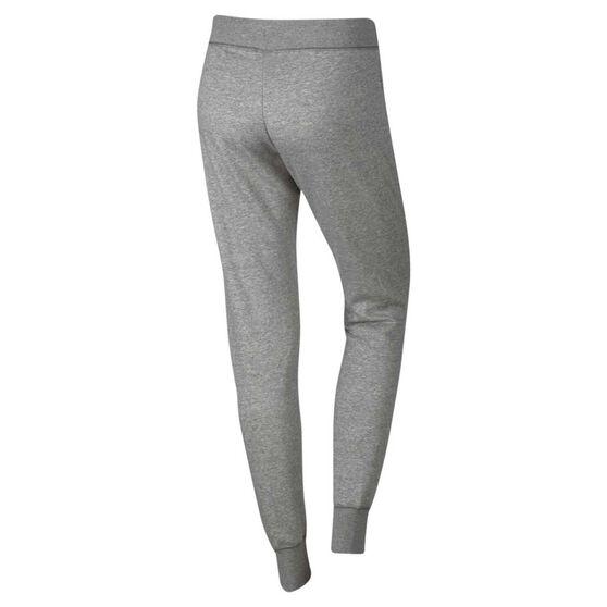 Nike Womens Sportswear Fleece Tight Pants, Grey / Silver, rebel_hi-res
