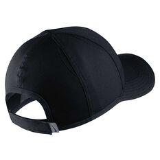 Nike Boys Featherlight Cap Black / White OSFA, , rebel_hi-res