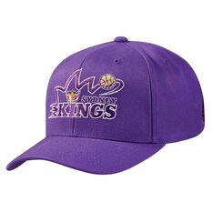 Mitchell and Ness Sydney Kings Flex 110 Cap Purple OSFA, , rebel_hi-res