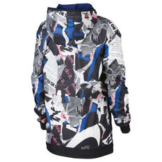 Nike Sportswear Womens Newsprint Jacket Print XS, Print, rebel_hi-res