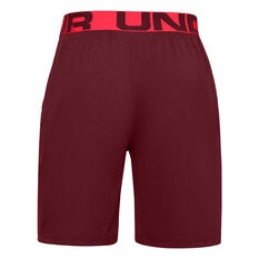 Under Armour Mens Vanish Woven Training Shorts Red L, Red, rebel_hi-res