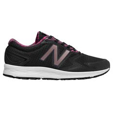 New Balance Flash Womens Running Shoes Black / Pink US 6, Black / Pink, rebel_hi-res