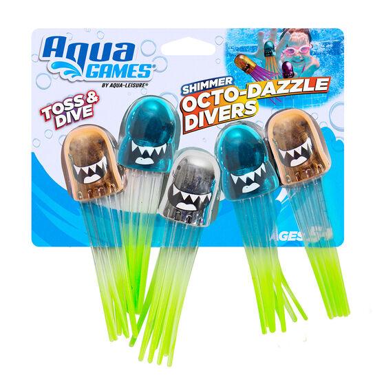 Aqua Splash Octo Dazzle Divers, , rebel_hi-res