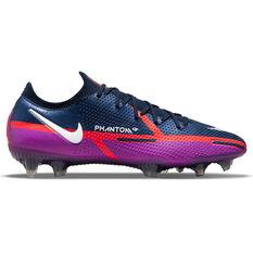 Nike Phantom GT2 Elite Football Boots Blue US Mens 4 / Womens 5.5, Blue, rebel_hi-res