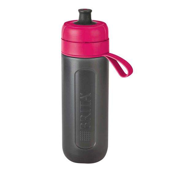 Brita Fill and Go Active 600ml Filter Water Bottle Pink, , rebel_hi-res