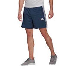 adidas Mens 3 Stripe Shorts Navy XS, Navy, rebel_hi-res