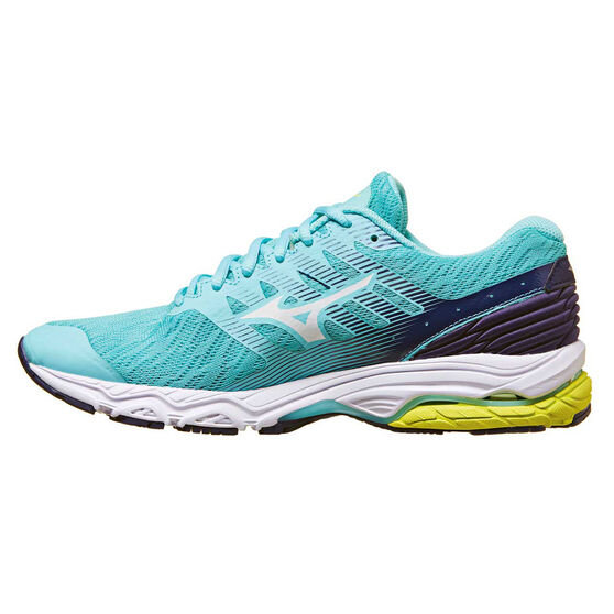 Mizuno Wave Prodigy 2 Womens Running Shoes, Blue / Aqua, rebel_hi-res