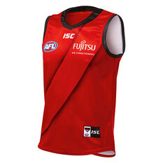 Essendon Bombers 2019 Mens Away Guernsey Red S, Red, rebel_hi-res