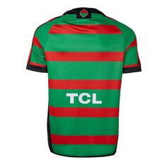South Sydney Rabbitohs 2019 Mens Home Jersey Red / Green S, Red / Green, rebel_hi-res