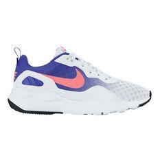 Nike Stargazer Womens Casual Shoes White / Blue US 6, White / Blue, rebel_hi-res