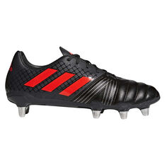 adidas Kakari SG Mens Rugby Boots Brown / Red US 7 Adult, , rebel_hi-res