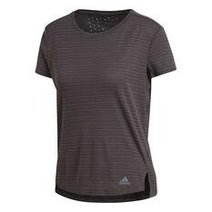 adidas Womens Freelift Chill Training Tee Grey XS, Grey, rebel_hi-res