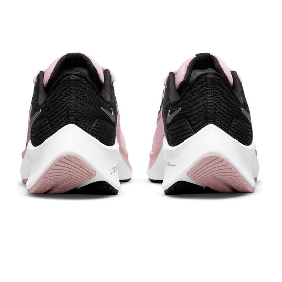 Nike Air Zoom Pegasus 38 Kids Running Shoes, Pink/Black, rebel_hi-res