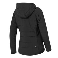 Ell & Voo Womens Masey Quilted Vest, Black, rebel_hi-res